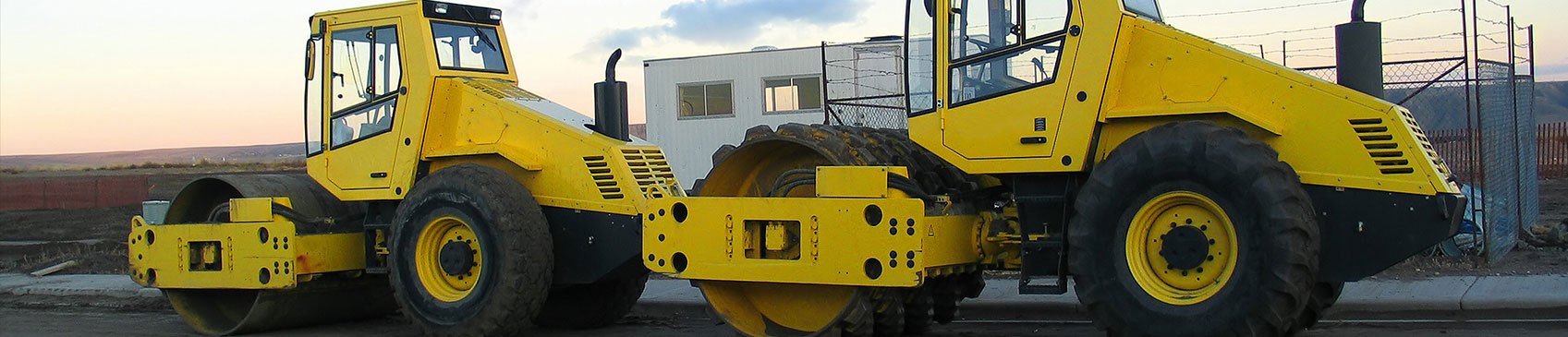 Used Single Drum Roller – GERL Construction Machines
